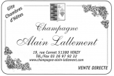 Champagne Alain Lallement